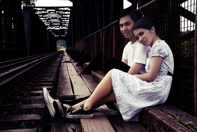 Sesi fotografi pra perkahwinan Ayma dan Qeem, Temerloh, Pahang