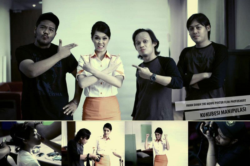 Awan Dania The Movie - Poster Photoshoot