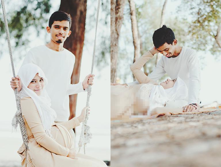 Soft Pastel Maternity photography Shah Alam Selangor KL
